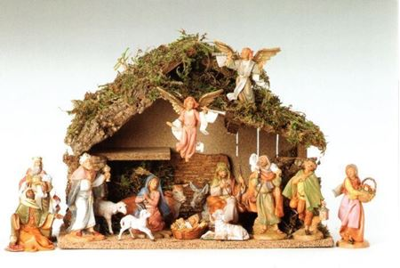 16 Piece Fontanini Nativity