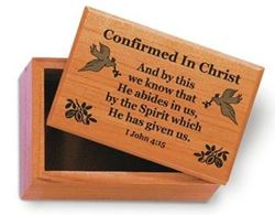 Picture of Confirmed in Christ Keepsake Box