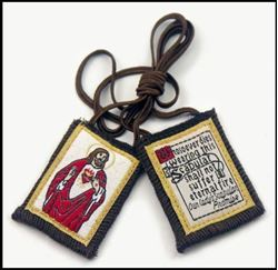 Picture of Sacred Heart of Jesus Scapular