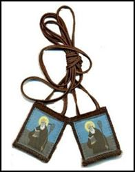 Picture of Saint Benedict Scapular
