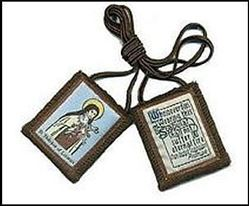 Picture of Saint Therese of Lisieux Scapular