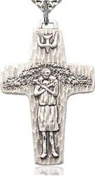 Picture of Sterling Silver Papal Cross Pendant