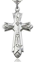 Picture of Sterling Silver Art Deco Cross Pendant