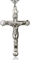 Sterling Silver Crucifix Pendant 6