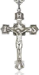 Sterling Silver Crucifix Pendant 7