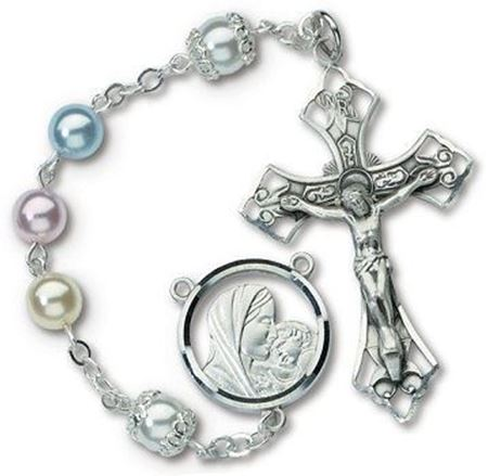 Picture of Multi-Color Pearl Rosary