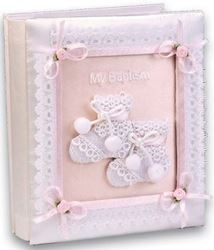 Baptismal Photo Album - Pink
