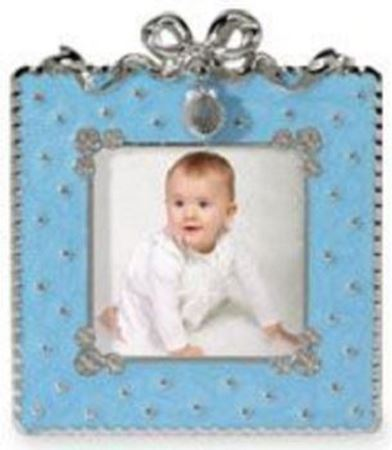Baptism Photo Frame - Blue