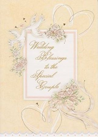 Wedding Blessings Card Catholic Books Crucifixes Gifts Online
