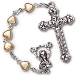 Heart Shaped Rosary