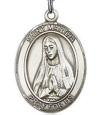 Picture of St. Martha Sterling Silver Medal