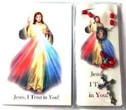 Divine Mercy Rosary And Booklet