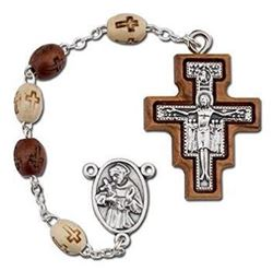 Picture of San Damiano Wood Rosary