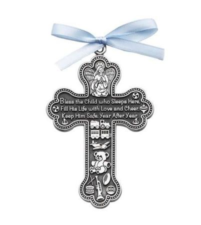 'Bless the Child' Cross - Boys