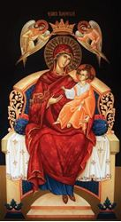 Picture of Theotokos Enthroned Icon