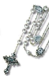 Picture of Wedding Lasso Rosary - Pearl
