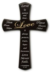 Picture of Love Wall Cross - 12 in.