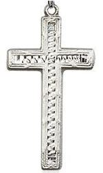 Picture of Sterling Silver Stitch Cross Pendant