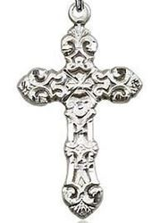 Picture of Sterling Silver Filigree Cross Pendant