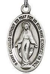Picture of Miraculous Medal Oval Small