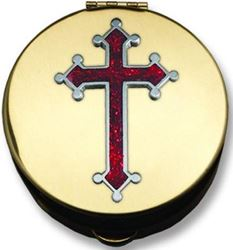 Picture of Red Cross Pyx Large