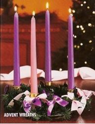 Picture of Advent Wreath with Ribbon