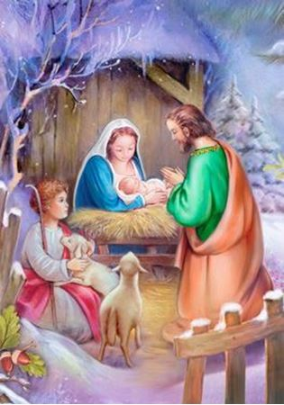 Picture of Away in a Manger Advent Calendar