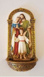 St. Joseph Holy Water Font - 7 in.