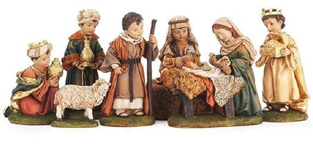 Holy Family Nativity Set - 6 in.