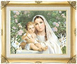 Madonna of the Lilies