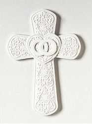 Cana Porcelain Wall Cross