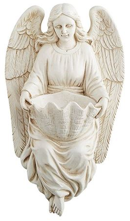 Angel Holy Water Font - 7 in.