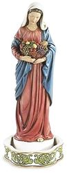 Mary Rosary Holder - 8 in.