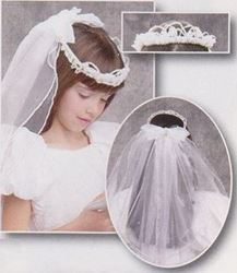 Picture of Pearl Crown Veil