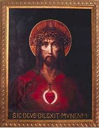 Picture of For God So Loved the World Framed Art 5.5x7 in.