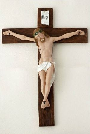 Picture of Italian Wall Crucifix - 9""