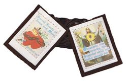 Sacred Heart Of Jesus And Mary Scapular