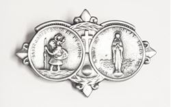 St. Christopher Visor Clip / Our Lady Of The Highway