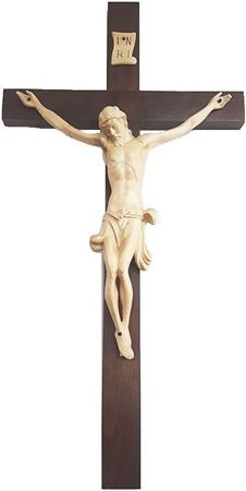 Large Chapel Crucifix - 42 In
