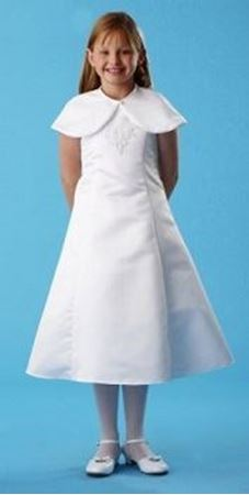 Picture of Communion Dress with Cape Size 12