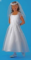 Picture of Communion Dress wtih Organza Jacket Size  12