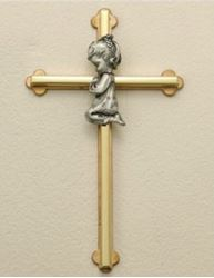 Picture of Gold-Tone Cross - Girl