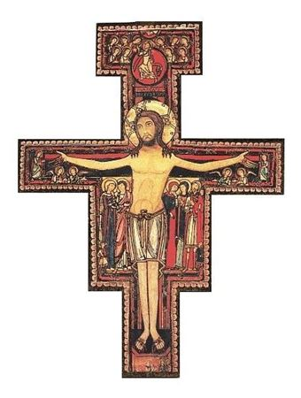 Picture of San Damiano Wall Crucifix - 3.25 in.