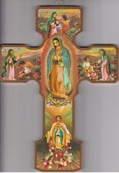 Picture of Our Lady of Guadalupe Wall Cross - 9.75 in.