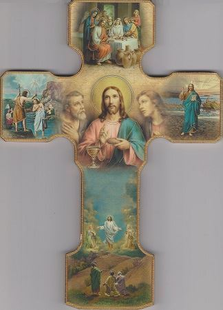 Picture of Luminous Mysteries Cross 9 in.
