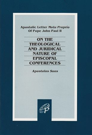 Picture of On Episcopal Conferences Apostolos Suos