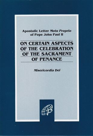 Picture of On Aspects of The Sacrament of Penance Misericordia Dei (One Left)
