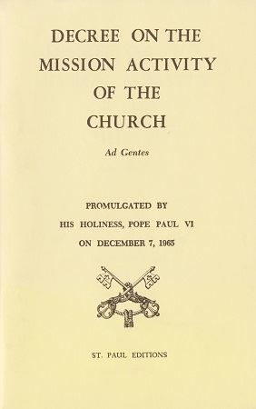 Picture of Decree on the Mission Activity of the Church Ad Gentes
