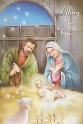 Picture of Glory to God Christmas Cards