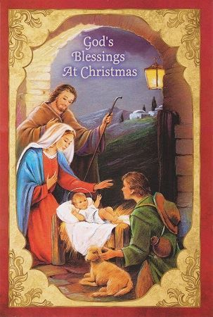 Catholic Christmas Cards.God S Blessings Christmas Cards
